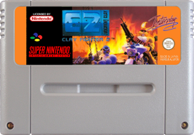 Clay Fighter 2: Judgment Clay - Fanart - Cart - Front