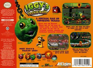 Iggy's Reckin' Balls - Box - Back