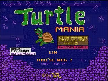 Turtle Mania - Screenshot - Game Title