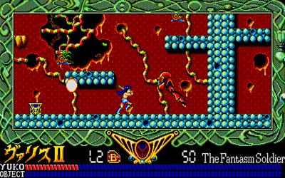 Mugen Senshi Valis II - Screenshot - Gameplay