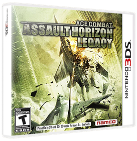 Ace Combat: Assault Horizon Legacy - Box - 3D