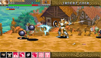 Dungeons & Dragons: Shadow Over Mystara - Screenshot - Gameplay