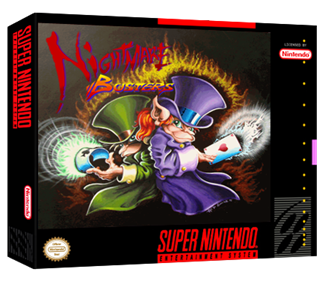 Nightmare Busters - Box - 3D