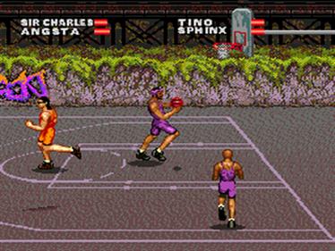Barkley: Shut Up and Jam! 2 - Screenshot - Gameplay