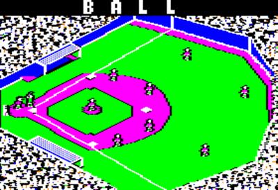 Star League Baseball - Screenshot - Gameplay