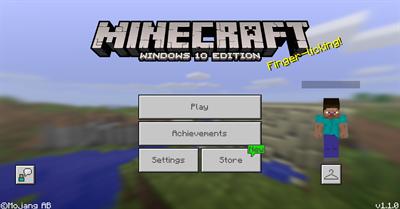 Minecraft: Windows 10 Edition - Screenshot - Game Title