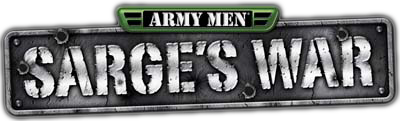 Army Men: Sarge's War - Clear Logo