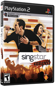 Singstar: Amped - Box - 3D