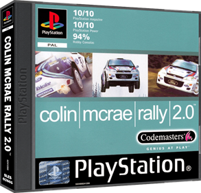 Colin McRae Rally 2.0 - Box - 3D