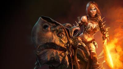 Golden Axe: Beast Rider - Fanart - Background
