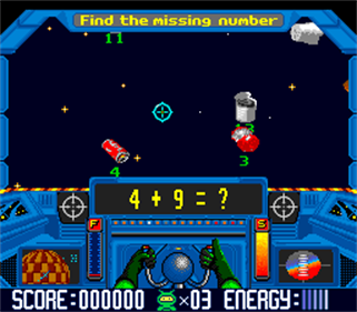 Math Blaster: Episode 1 - Screenshot - Gameplay