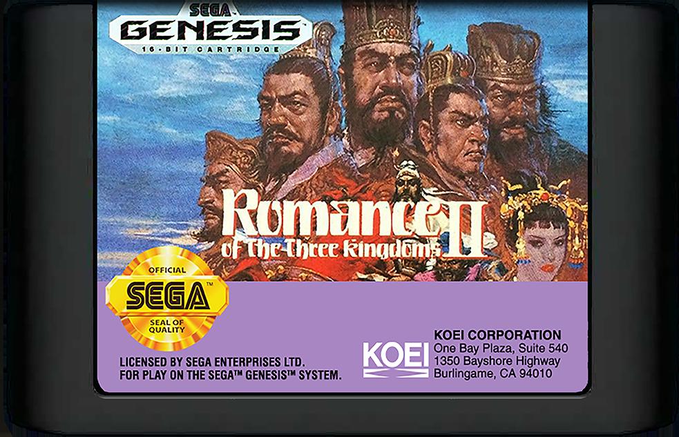 Romance of the Three Kingdoms II Details - LaunchBox Games