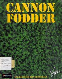 Cannon Fodder - Box - Front