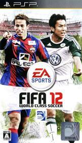 FIFA Soccer 12 - Box - Front