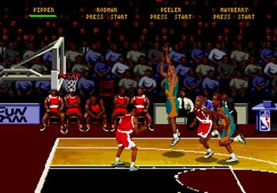 NBA Hang Time - Screenshot - Gameplay