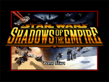 Star Wars: Shadows of the Empire - Screenshot - Game Title