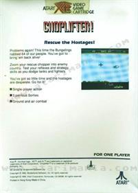 Choplifter - Box - Back