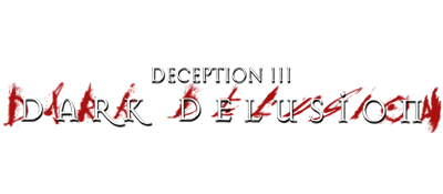 Deception III: Dark Delusion - Clear Logo