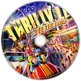 Thrillville: Off The Rails - Fanart - Disc