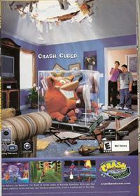 Crash Bandicoot: The Wrath of Cortex - Advertisement Flyer - Front