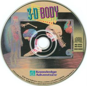 3-D Body Adventure - Disc