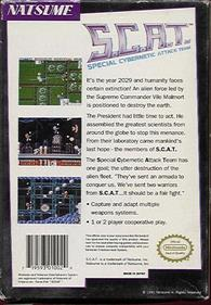 S.C.A.T.: Special Cybernetic Attack Team - Box - Back