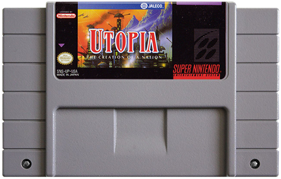 Utopia: The Creation of a Nation - Fanart - Cart - Front