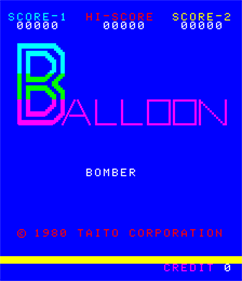 Balloon Bomber - Screenshot - Game Title