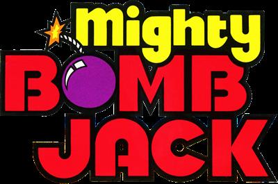 Mighty Bomb Jack - Clear Logo