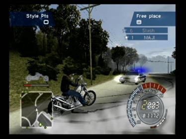 American Chopper 2: Full Throttle - Screenshot - Gameplay