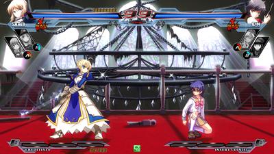 Nitroplus Blasterz: Heroines Infinite Duel - Screenshot - Gameplay