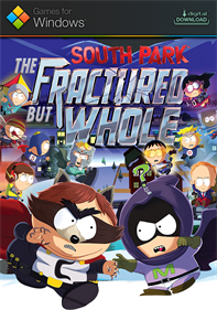 South Park: The Fractured But Whole - Fanart - Box - Front