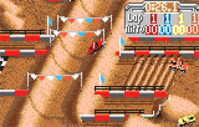 Super Off Road - Screenshot - Gameplay