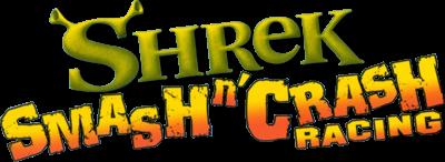 Shrek Smash n' Crash Racing - Clear Logo
