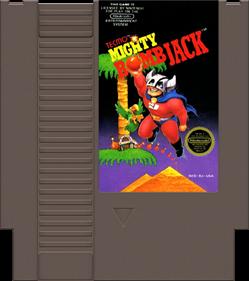 Mighty Bomb Jack - Fanart - Cart - Front