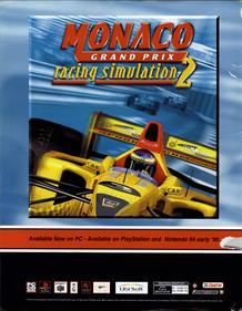 Monaco Grand Prix - Advertisement Flyer - Front