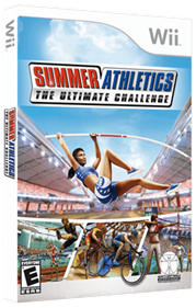 Summer Athletics: The Ultimate Challenge - Box - 3D