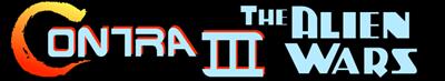 Contra III: The Alien Wars - Banner