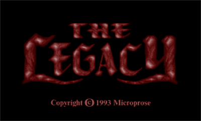 The Legacy: Realm of Terror - Screenshot - Game Title