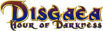 Disgaea: Hour of Darkness - Clear Logo