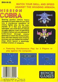 Mission Cobra - Box - Back
