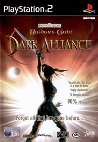 Baldur's Gate: Dark Alliance - Box - Front