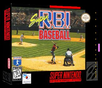 Super R.B.I. Baseball - Box - 3D