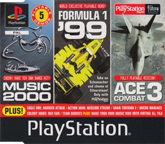 Official UK PlayStation Magazine: Demo Disc 55