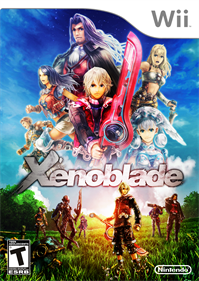 Xenoblade Chronicles - Fanart - Box - Front