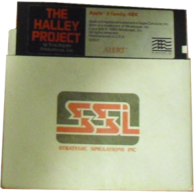 The Halley Project - Disc