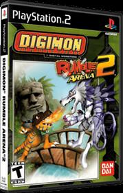 Digimon Rumble Arena 2 - Box - 3D