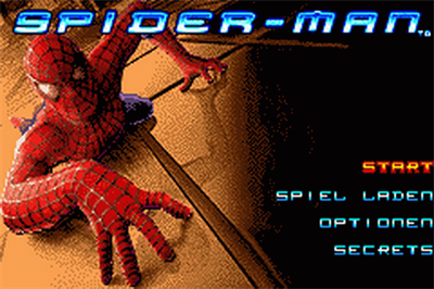 Spider-Man - Screenshot - Game Title