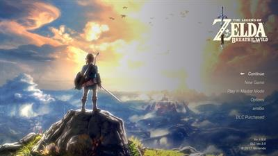 The Legend of Zelda: Breath of the Wild - Screenshot - Game Title