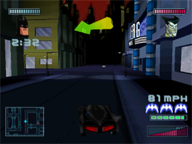 Batman: Gotham City Racer - Screenshot - Gameplay